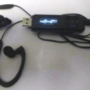 MP3-speler met oorhaken
